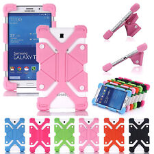 For Onn 8 inch Tablet PC Kids Safe Universal Shockproof Soft Silicone Case Cover