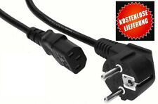 Stromkabel PC Netzkabel Kaltgerätestecker Computer Monitor Drucker -Top Zustand