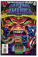 Captain America 441 Marvel 1995 NM MODOK AIM Avengeers Nick Fury Black Widow