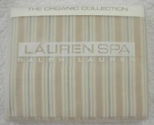 NEW Ralph Lauren Seaside Retreat Queen Flat Sheet Stripe NIP
