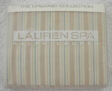NEW Ralph Lauren Seaside Retreat Queen Flat Sheet Stripe NIP