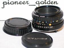 PENTAX SMC A 50mm 1:2 LENS for Pentax 35mm SLR,DSLR Camera w/original caps