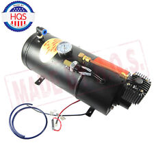 150PSI DC 12V TRUCK PICKUP ON BOARD AIR HORN AIR COMPRESSOR W/ 3 LITER TANK