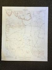 Vintage USGS Buck Hill Texas 1917 Topographic Map 1927