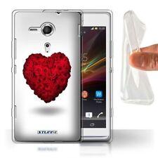 Étuis, housses et coques Sony Xperia SP en silicone, caoutchouc, gel pour téléphone mobile et assistant personnel (PDA) Sony