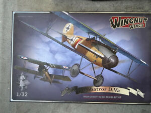 WNW Wingnut Wings Albatros DVa with Gaspatch extra