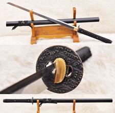 Japanese Samurai Ninja Sword 9260 Spring Steel Kiriha Zukuri Blade Sharp Cutting