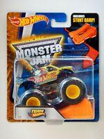 Team Hot Wheels ( #12) Monster Jam Truck (Hot Wheels)(2016)(Stunt Ramp)