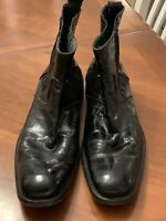 VINTAGE KENNETH COLE NEW YORK - SOFT LEATHER CHELSEA BOOTS - MADE IN ITALY