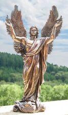 Erzengel Metatron Statue Figur 37cm Kunstharz bronze Erz-engel