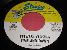 Red Sovine: Between Closing Time And Dawn / The Father Of Judy Ann 45 - Country