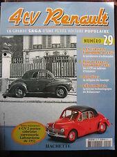 FASCICULE 29 RENAULT 4CV  CABRIOLET LABOURDETTE DE 1952