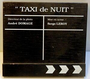 CLAP original - TAXI de NUIT - S.LEROY - 10 /1992 - 13,5 x 15 cm