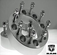 2 Pc DODGE RAM 2500 HD BILLET WHEEL ADAPTER SPACERS 2.00 Inch # 8650E9/16