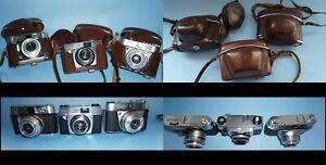 3 Kameras Voigtländer Kodak & Agfa  siehe Fotos + Artikelbeschreibung