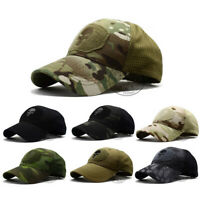 Punisher Skull Navy Seal Special Forces Baseball Cap Multicam Camo Patch Hat