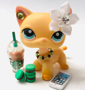 Littlest Pet Shop clothes LPS accessories Chocolate Mint Outfit *No Pet Included