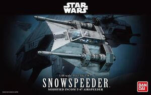 Bandai 1/48 Scale Model Kit Star Wars Snowspeeder modified Incom T-47 Airspeeder