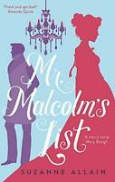 Mr Malcolm's List by Allain, Suzanne, NEW Book, FREE & FAST Delivery, (Paperback