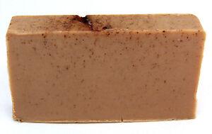 VEGAN Hemp and Patchouli Shea Butter Soap Luxury Handmade Cruelty Free Creamy