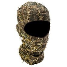 Camo Hunting Face Mask Grass Outdoor Tactical Camouflage Hat Hood Headnet Full
