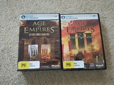 Age of Empires 3 III PC Gold Edition Base & The War Chiefs + Asian Dynasty