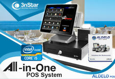 3nStar Pos System i5 4Gb 120Gb Ssd Restaurant Bakery Bar for Aldelo Pay New