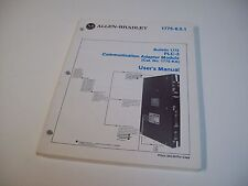 Allen-Bradley 955095-90 Plc-3 Commications Adapter Module User Manual 1775-6.5.1