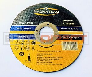 """Extra Cutting Disc Ultra Thin 1mm wheel 125 5"""" 115 4.5"""" steel angle grinder 1/2"""