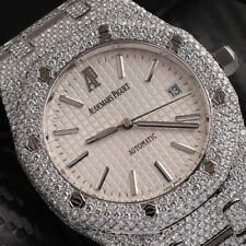 Audemars Piguet Royal Oak 39mm Fully Iced Out 15300st.oo.1220st.01 SS Watch