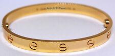 Cartier Love Bracelet 18 18k Yellow Gold Box/Certificate/Tool NEW B6035518