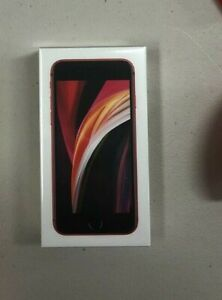 NEW Apple iPhone SE 2nd Gen RED 64GB Boost Mobile Free 1st Month