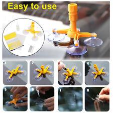 Car Windshield Windscreen Glass Repair Tool Chip Crack Kit DIY Wind New Yellow
