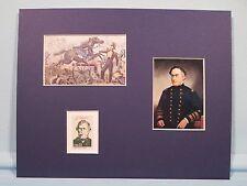 Mexican War Hero Zachary Taylor wins Battle of Resaca de la Palma  & his stamp