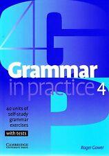 Cambridge gramática en la práctica 4 intermedia autoaprendizaje ejercicios con pruebas de nuevo