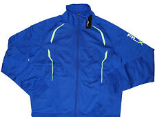 Polo Ralph Lauren RLX Mens Blue Black Grey Jogging Track Zip Sweater Jacket Coat