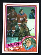 Greg Stefan #48 signed autograph auto 1984-85 Topps Hockey Trading Card