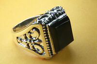 ROYAL ONYX RING LILIEN RING 925 SILBER SILBERRING / 248