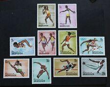 BURUNDI - 1964 SCARCE TOKYO OLYMPICS FULL SET MNH RR