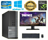 FAST GAMING DELL/HP PC FULLSET CORE i5 16GB RAM 1TB HD GT710 Graphiccard WiFi