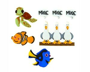 Disney Finding Nemo Buttons Jesse James Dress It Up Embellishment Collection