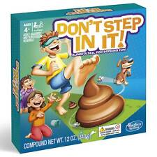 Don't Step In It Game // Blindfolded Poo-Dodging Fun // By Hasbro