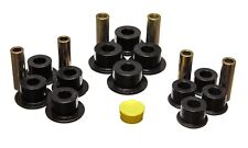 Energy Suspension Leaf Spring Bushing Set Black Rear for 01-04 Sierra 1500