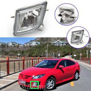 Left Passenger Side Front Bumper Fog Light Lamp Cover For Mazda 6 GH 2008-2012
