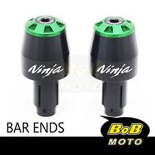 STORM Bar End Sliders Laser Logo Fit Ninja 1000 SX 250R 300R 400 ER-6F ZX-9R(Fits: Vulcan S 650)