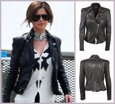 Muubaa Leather Jacket Size 6 As Seen On Cheryl Cole