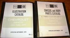 1953 54 55 56 57 58 59 60 61 62 63 64 65 66 67-1972 73 74 Corvette Parts Catalog