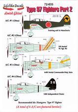"Lifelike Decals 1/72 NAKAJIMA Ki-27 TYPE 97 FIGHTER ""NATE"" Part 2"