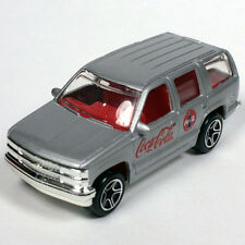 Matchbox Coca Cola Coke Chevrolet Chevy Tahoe SUV Silver or Gray ** NEW **