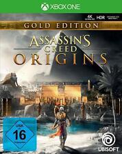 Assassins Creed Origins - Gold Edition für XBOX ONE   NEUWARE   DEUTSCH!